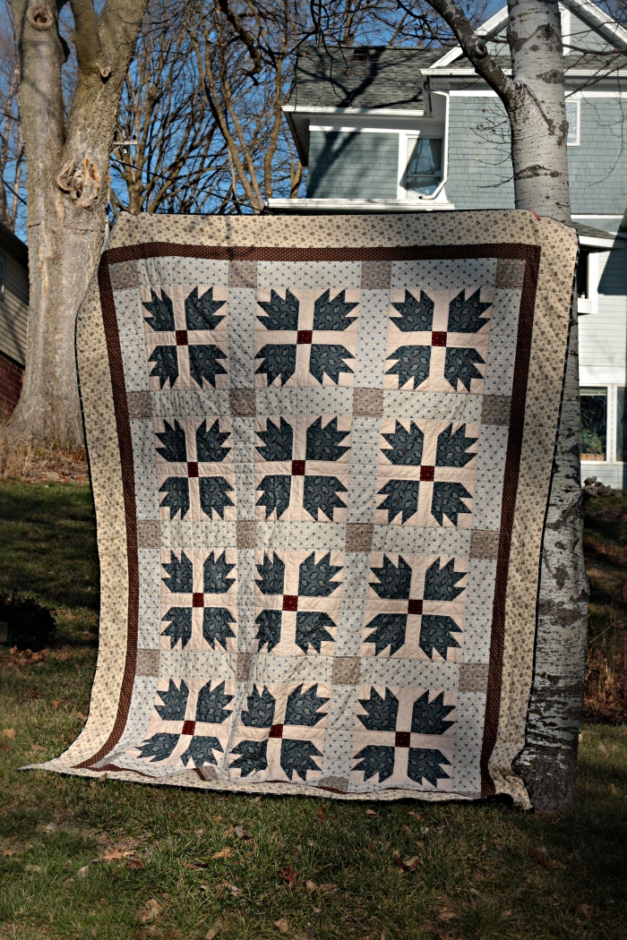 12-12 bear paw quilt front