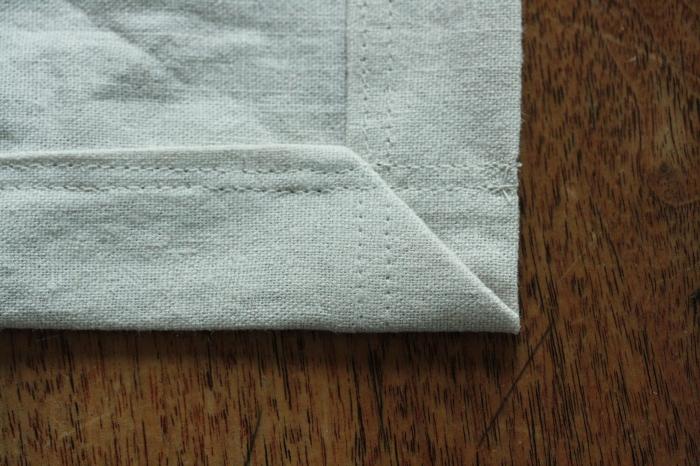 hem and add top stitch