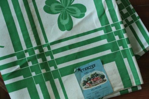 four leaf clover tablecloth