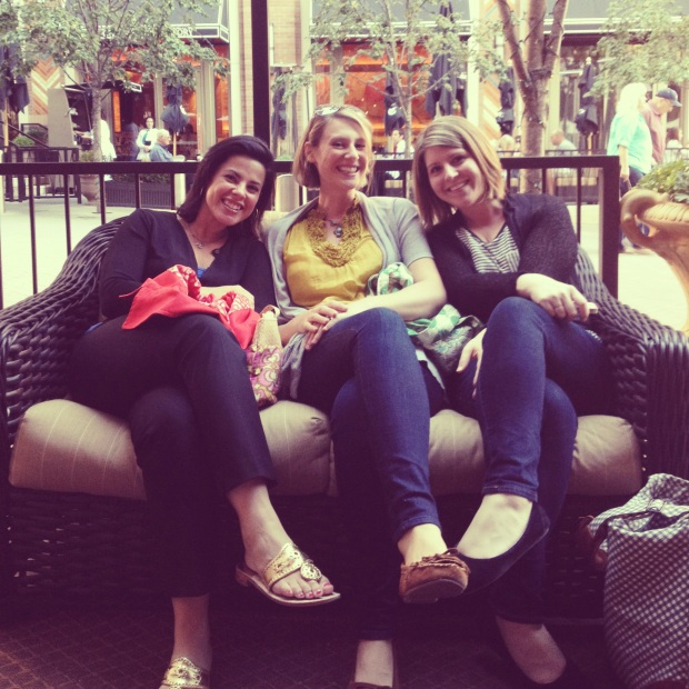 Elena, Amy, and Lindsey