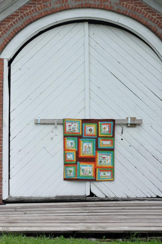 aorund the block quilt