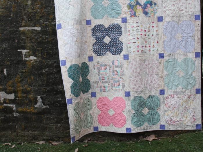 florette quilt detail