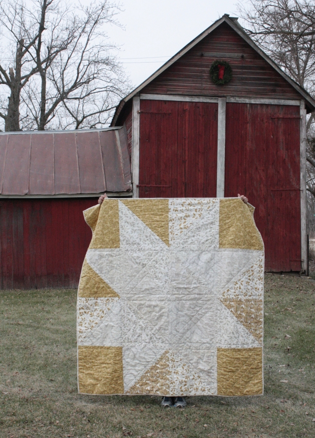 silver star quilt