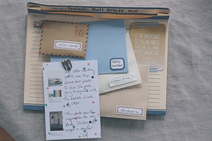 fantastic quilt voyage packet